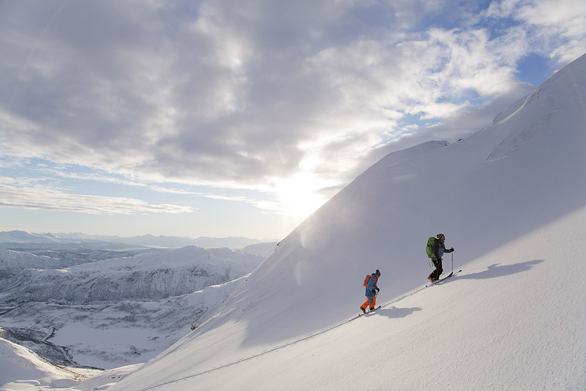 Toppturande i Norge.