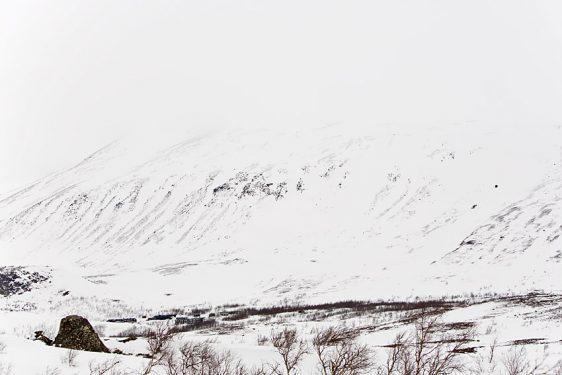 Kebnetjåkka Lilltopp, via Personalbacken