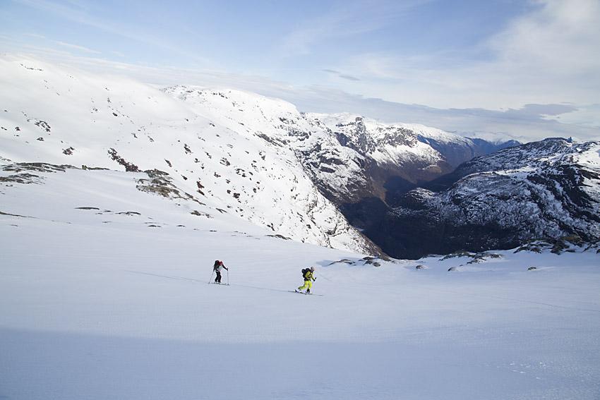 Urshovd – högt ovanför Flåmsdalen