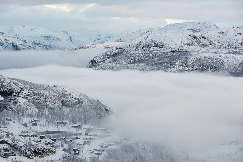 Hemsedal ligger endast 3 timmar från Oslo.
