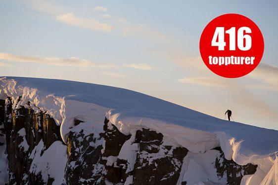 416 toppturer på Snösäker – vi fortsätter växa!