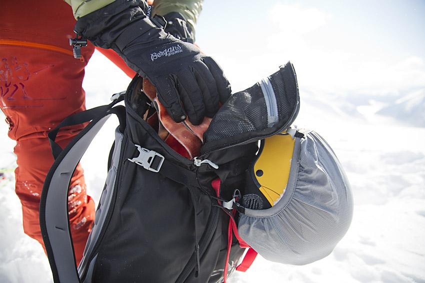 Så packar du ryggsäcken för topptur Snösäker