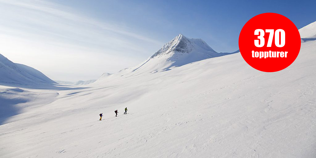 Nu finns det beskrivningar till 370 toppturer på Snösäker!