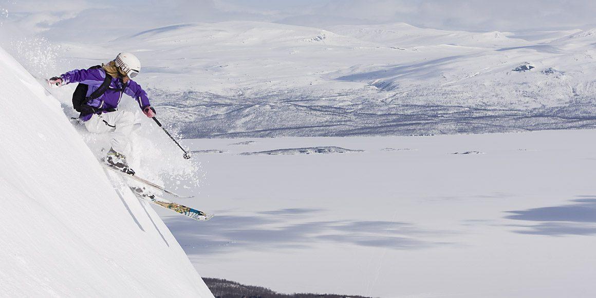 Här åker du skidor på långhelgerna i maj