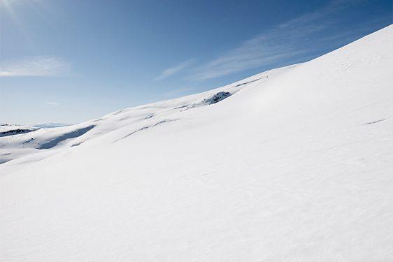 Kambafjellet, ner åt nordost