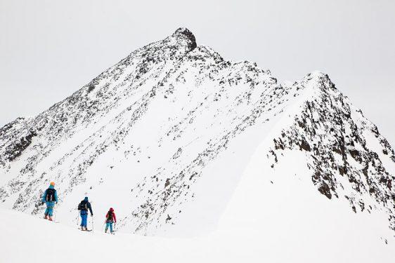 Norra Klippberget, via Kebnepakteglaciären