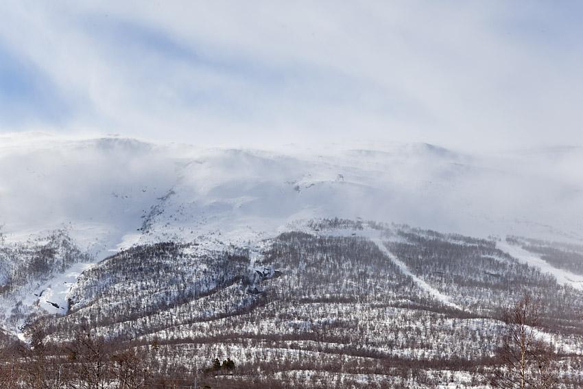 En lift, ett berg - Njulla är sveriges La Grave.