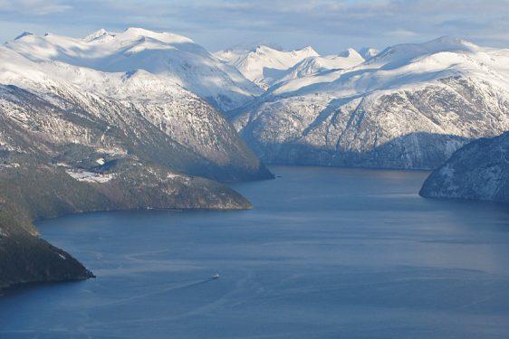 Öster om Storfjorden
