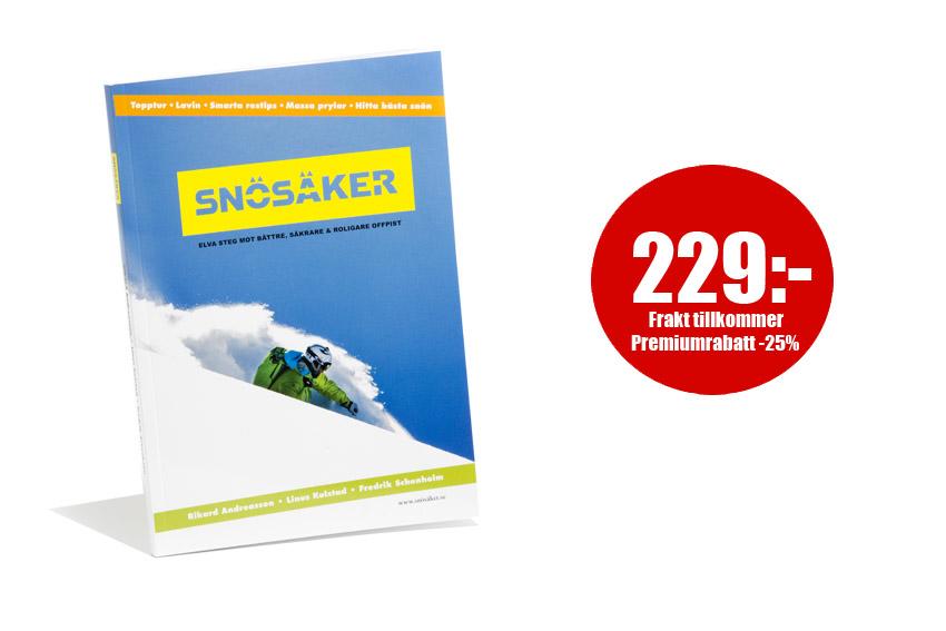Boken Snösäker - läs mer och beställ