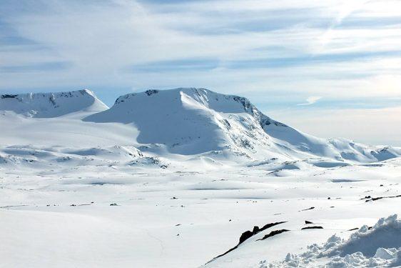 Steindalsnosi, från norr